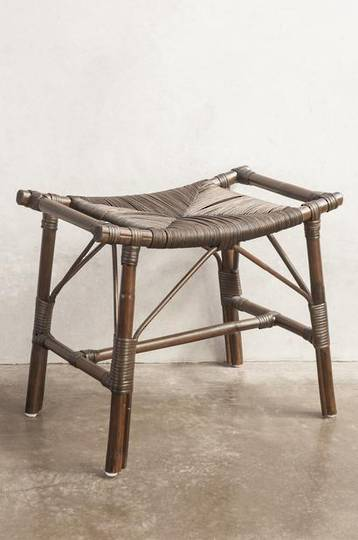 Bianca Lorenne - Tellaro Stool - Brown Wash