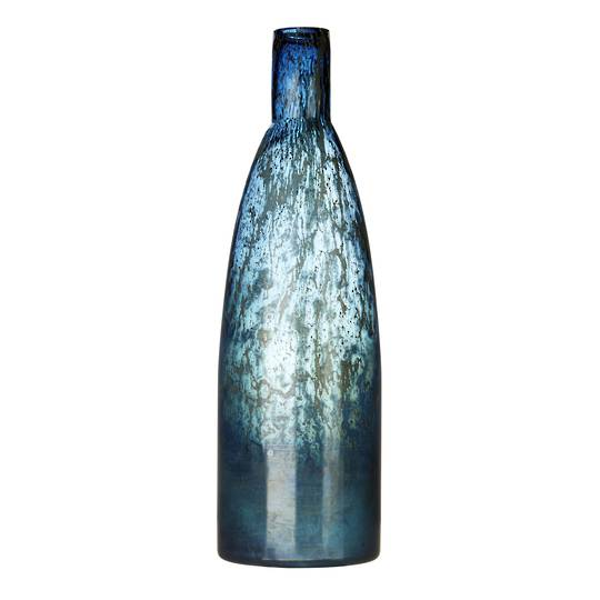 Importico - Voyage Maison Glass - Thalassa Large Vessel - Sapphire
