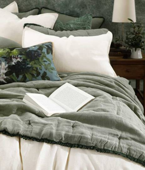 MM Linen - Tiffany  Comforter Set  / Eurocase  Set