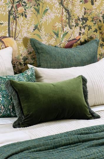 Bianca Lorenne - Tramonto - Cushion/Eurocase - Green