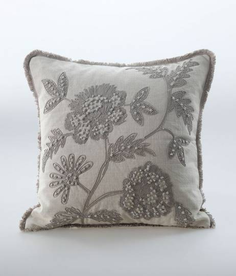MM Linen - Trixie Cushion - Natural
