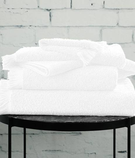 MM Linen - Tusca Towels - White