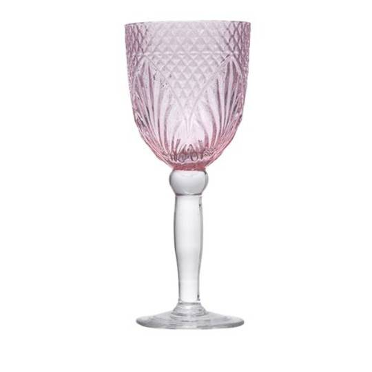 French Country - Vintage Pink Goblets