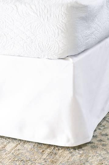 Bianca Lorenne - Heavy Cotton Drill Valance - White