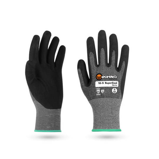 Eureka 18-5 SuperCool Nitrile Super High CUT 5F Glove