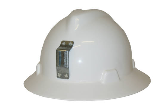 MSA V Gard Full Brim Miners Hard Hat