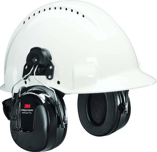 3M™ Peltor WorkTunes Pro AM/FM/MP3 Radio Cap Mounted Earmuff - Class 5