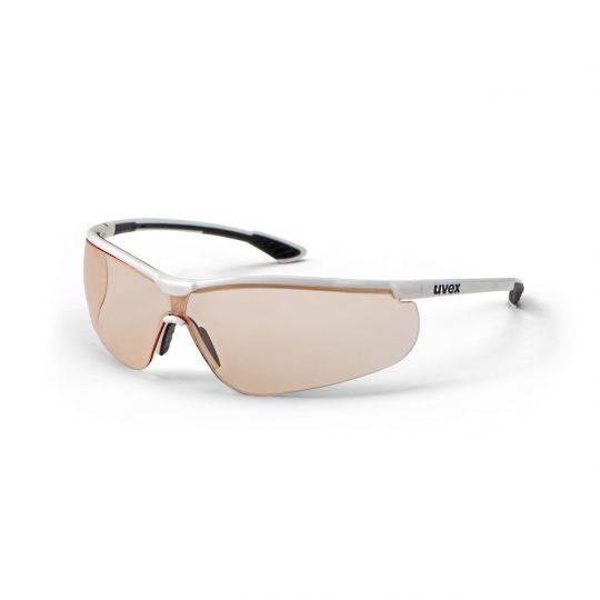 Uvex Sportstyle White/Black Frame Spectacles - CBR75 HC-AF