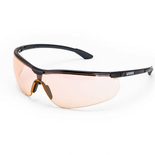 Uvex Sportstyle Black/Anthracite Frame Spectacles - Variomatic HC-AF