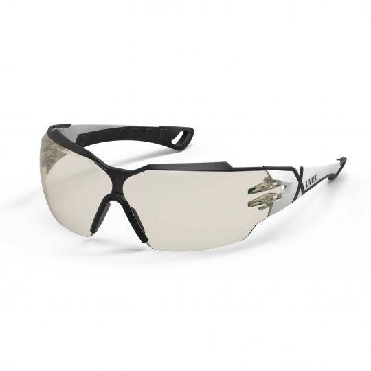 Uvex Pheos CX2 White/Black Frame Spectacles - CBR 65 HC-AF