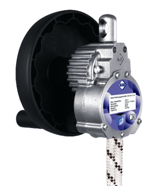 Ikar Favorit 1 Person Controlled Descent Device with Integral Hoist Facility