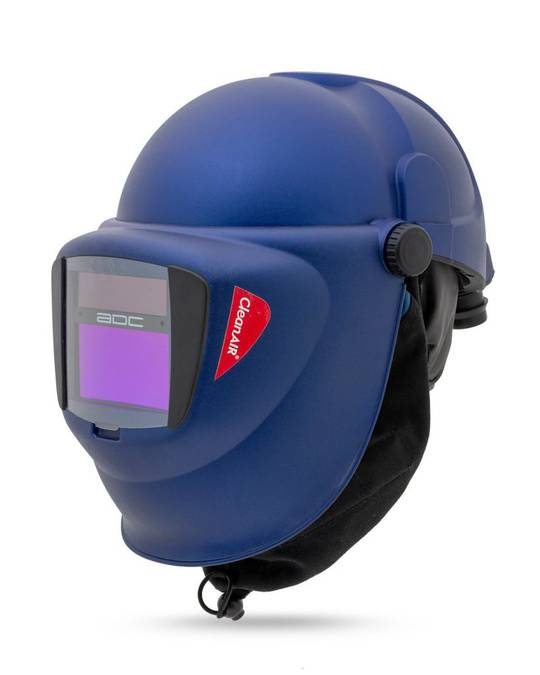 CleanAir CA-40 Safety Helmet with a Welding Shield