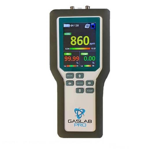 GasLab Pro Carbon Dioxide Sampler & Data Logger