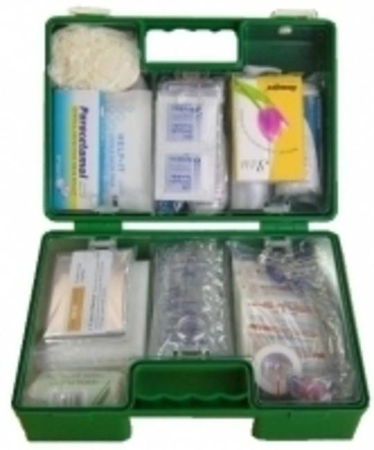 26-50 Person First Aid Kit - Plastic Wall Mountable