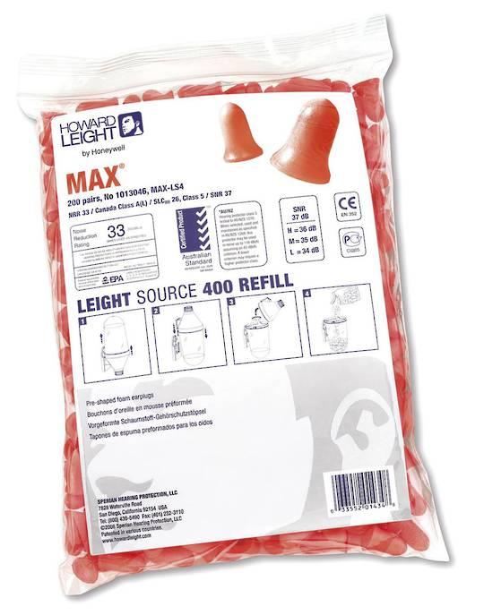 MAX LS-400 Dispenser Earplug Refill - Class 5