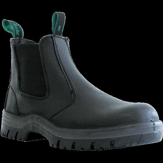 Hercules Black Slip On Safety Boot
