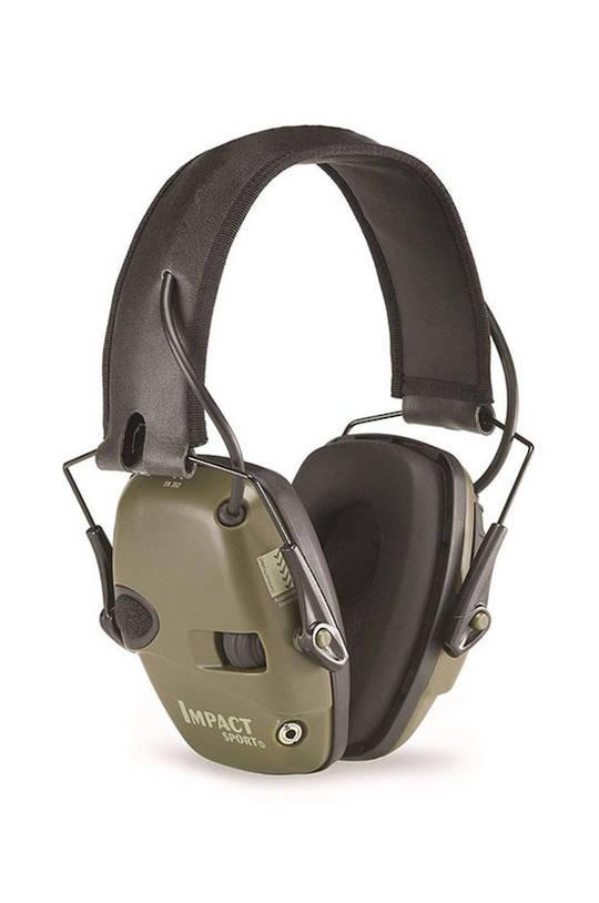 Howard Leight Impact Sport Ear Muff, Hunter Green (Olive) - Class 4