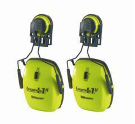 Howard Leight Leightning L1HHV Hi Vis Cap Mounted Muffs - Class 5