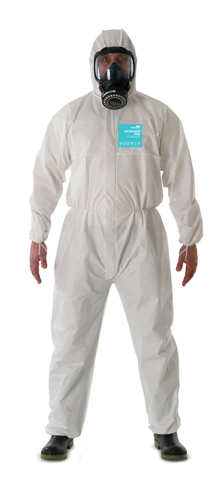 MICROGARD 2000 Breathable Laminate Coverall - Medium Size ONLY!