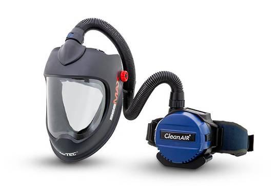 CleanAir Basic/SeeMAX Grinding Powered Respirator Kit