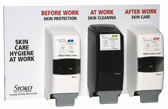 Stoko® Skin Care Board - with 3 SVP Dispensers