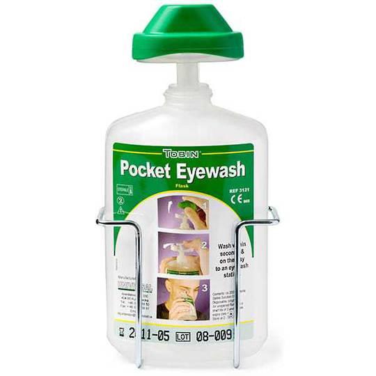 Tobin Pocket Eyewash Flask Wire Stand