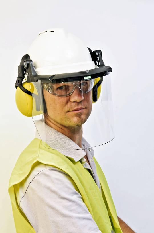 V-Gard Helmet Faceshield System