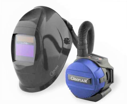 CleanAir TIGer Welders Powered Respirator Kit