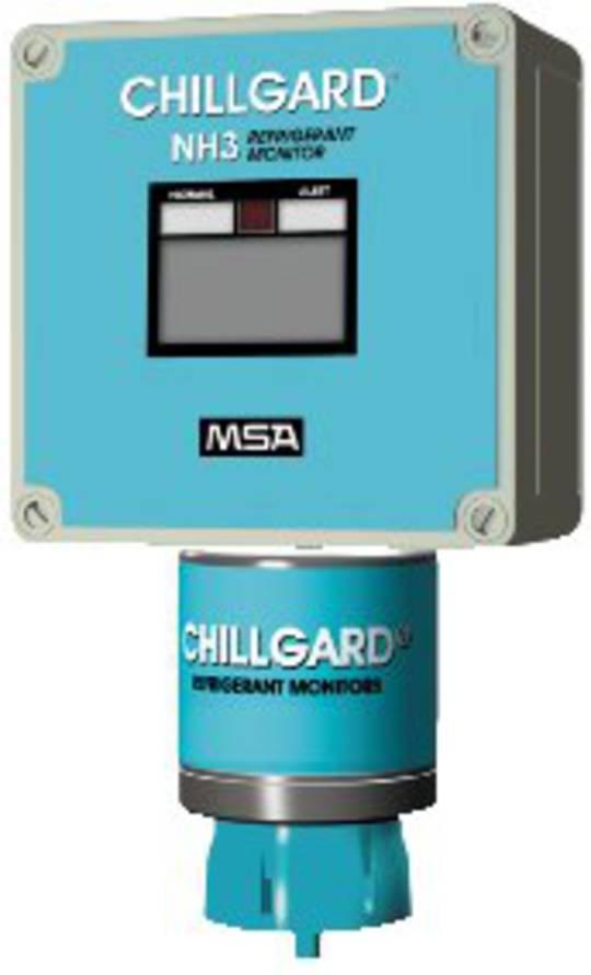 MSA Chillgard NH3 Gas Monitor