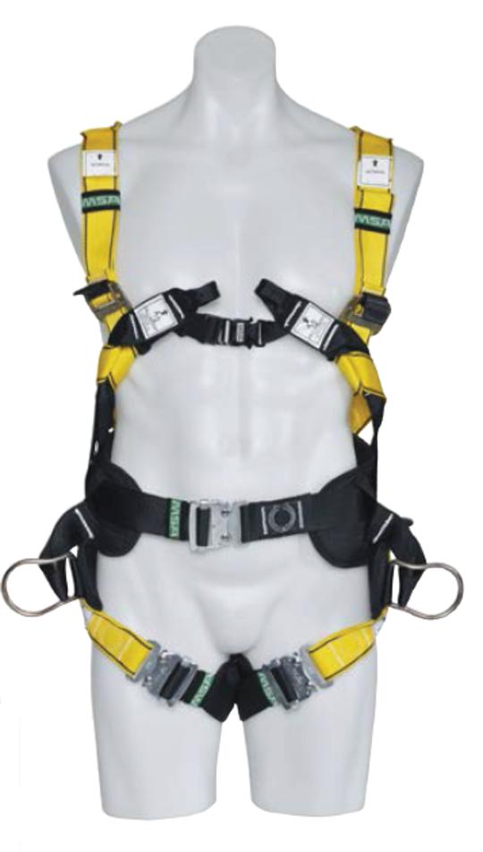 MSA Workman Utility Full Body Harness