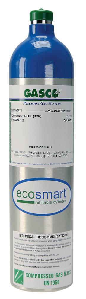GASCO 116ES Ecosmart Refillable Cylinder - Multi Gas Mix