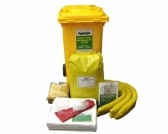SpillTech 120L GP Spill Kit Wheelie Bins