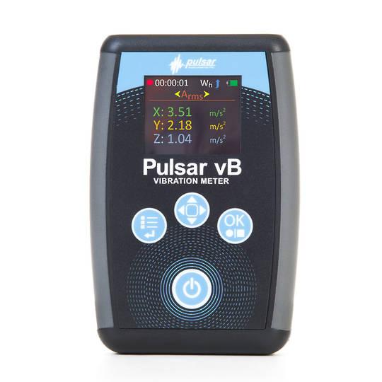 HAV Meter - Pulsar vB hand arm vibration meter