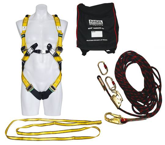 MSA Workman Premier Roof Workers Kit