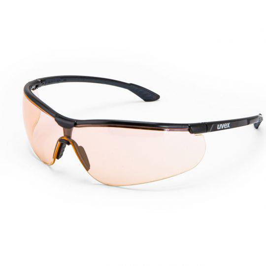 Uvex Sportstyle Black/Anthracite Frame Spectacles - Variomatic HC-AF