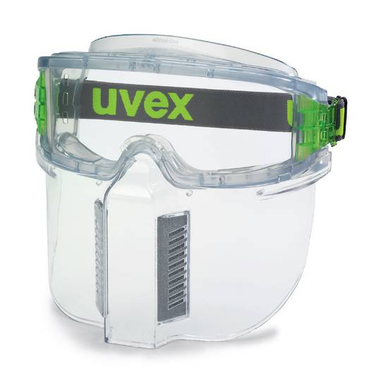 Uvex Ultravision Goggle with Lower Face Guard