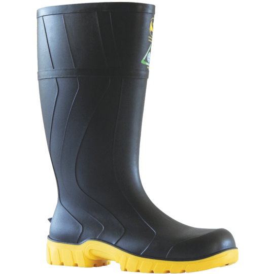 Bata Safemate 2 Black Steel Toe Gumboot