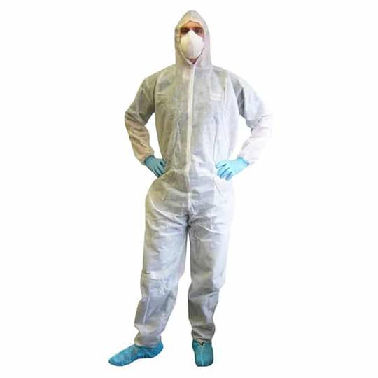 Disposable Polypropylene Coveralls
