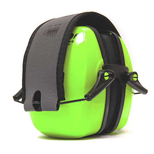 Howard Leight Leightning L2FHV Hi Vis Folding Ear Muff - Class 5
