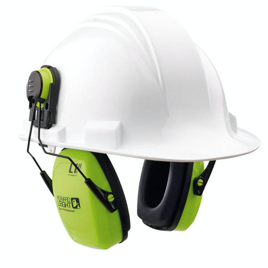 Howard Leight Leightning L1HHV Hi Vis Cap Mounted Ear Muff - Class 5
