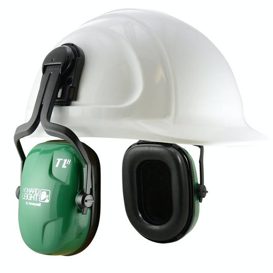Howard Leight Thunder T1H Cap Mounted Ear Muff - Class 5