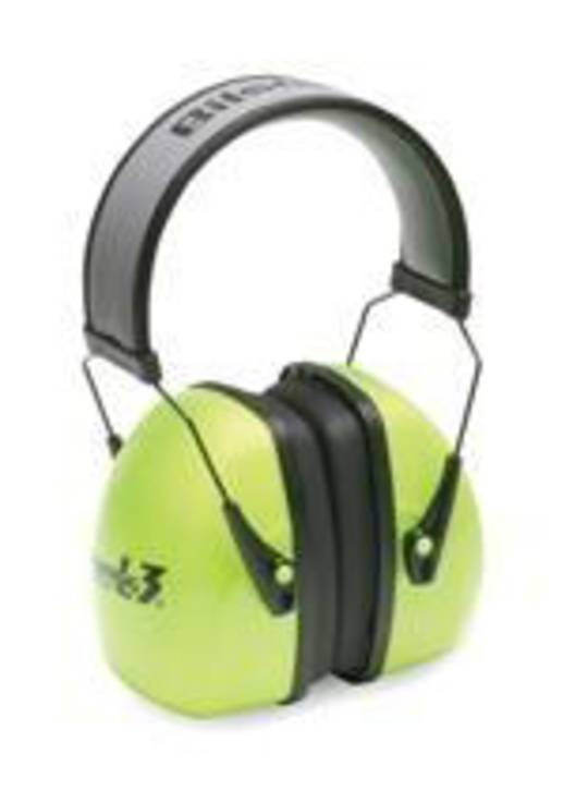 Howard Leight Leightning L3 Hi Vis Over-the Head Earmuff - Class 5+