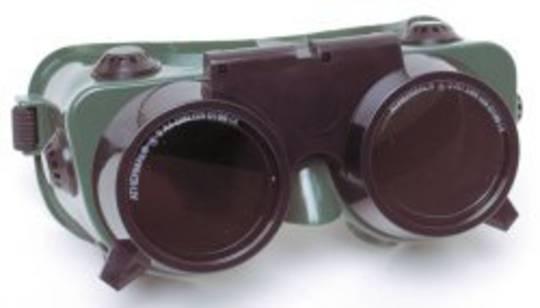 MSA Flashmaster Flip-Up Goggle