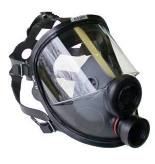 North 54401 Full Facepiece Mask (DIN Thread)