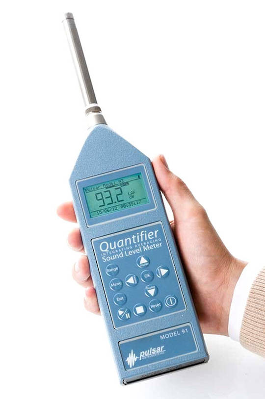 Pulsar Quantifier Model 91 & 92 Integrated Class 1/Class 2 Sound Level Meter