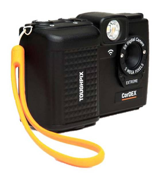 CorDEX ToughPIX EXTREME Intrinsically Safe Digital Camera