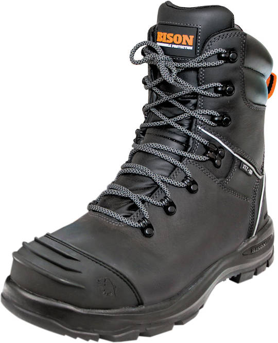 Bison XT Extreme High Leg Zipped Safety Boot