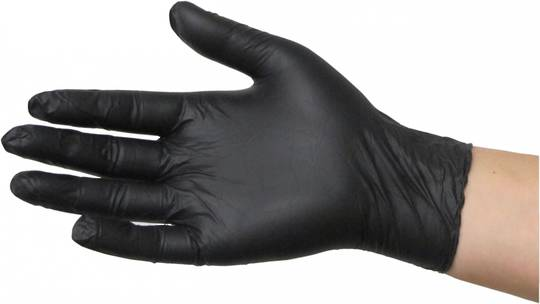 Black Dragon Nitrile Glove - Powder Free