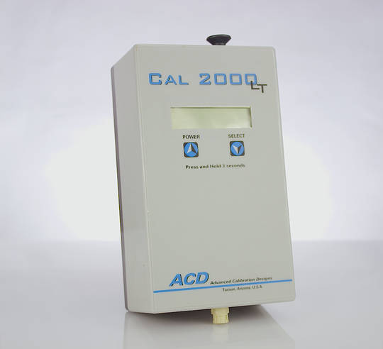 ACD Cal 2000LT Calibration Gas Instrument (CL2, H2, HCN, H2S)