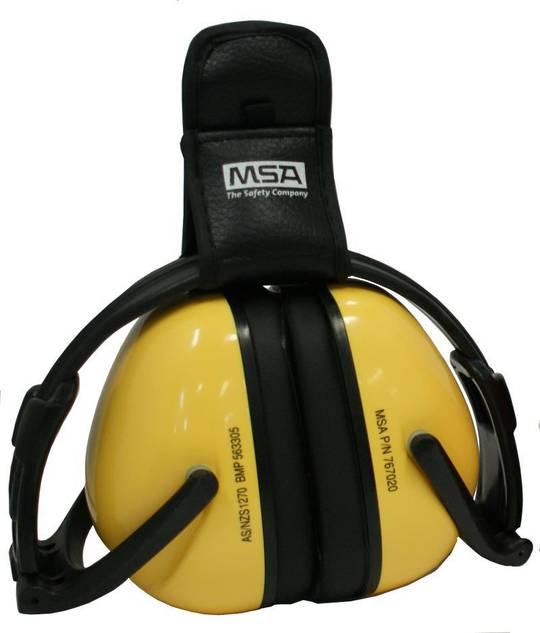 MSA Blocka F80 Folding Earmuff & Belt Clip - Class 5